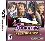 Cover Ace Attorney Investigations: Miles Edgeworth