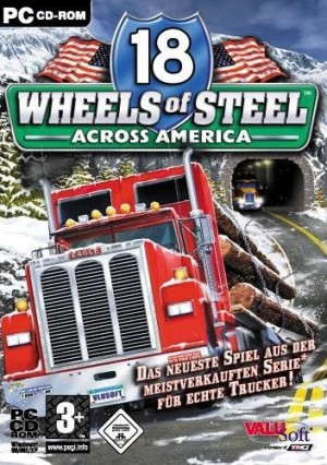 Cover 18 Wheels of Steel: Across America