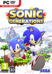 Cover Sonic Generations