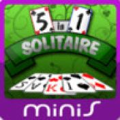 Cover 5-in-1 Solitaire