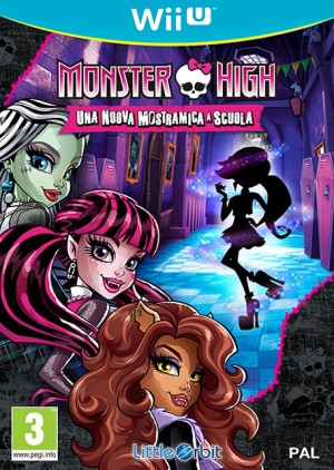 Cover Monster High New Ghoul in School