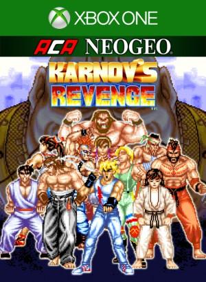 Cover ACA NeoGeo: Karnov's Revenge