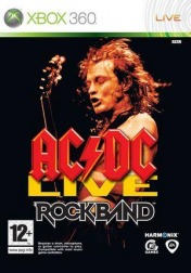Cover AC/DC Live: Rock Band Track Pack