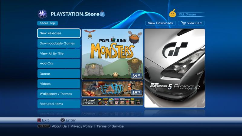 Novità da PlayStation Store