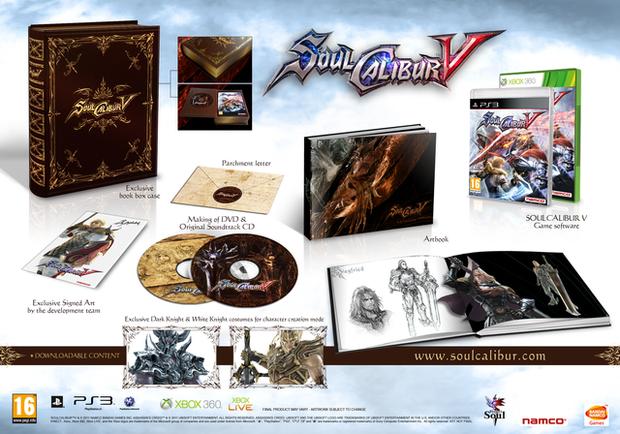 Immagine Soul Calibur V: confermata la collector's ed Ezio Auditore