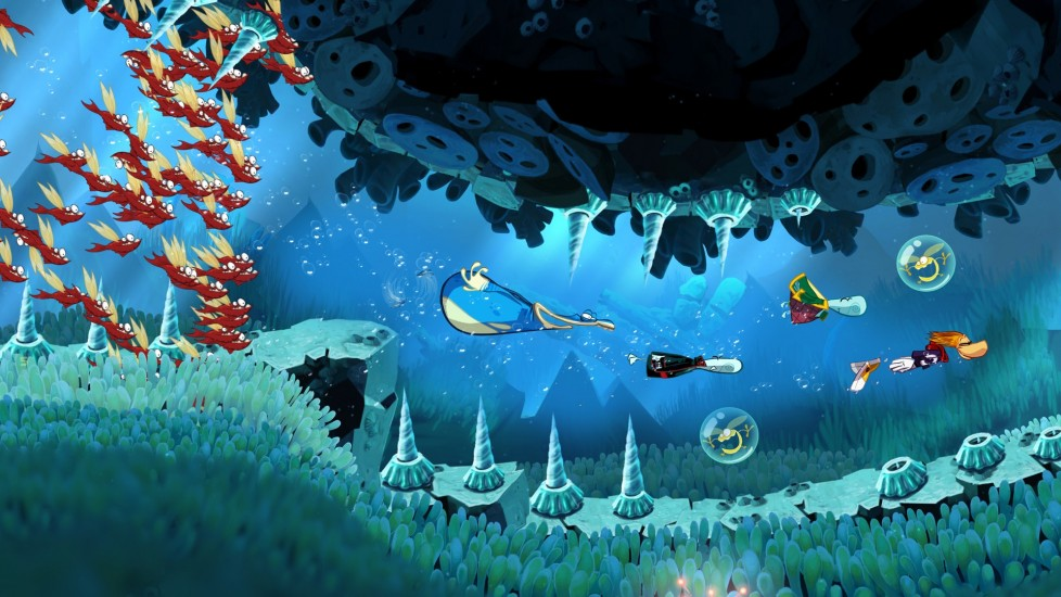 Rayman Origins disponibile nei negozi