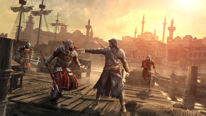 Immagine Assassin's Creed Revelations ci mostra Costantinopoli