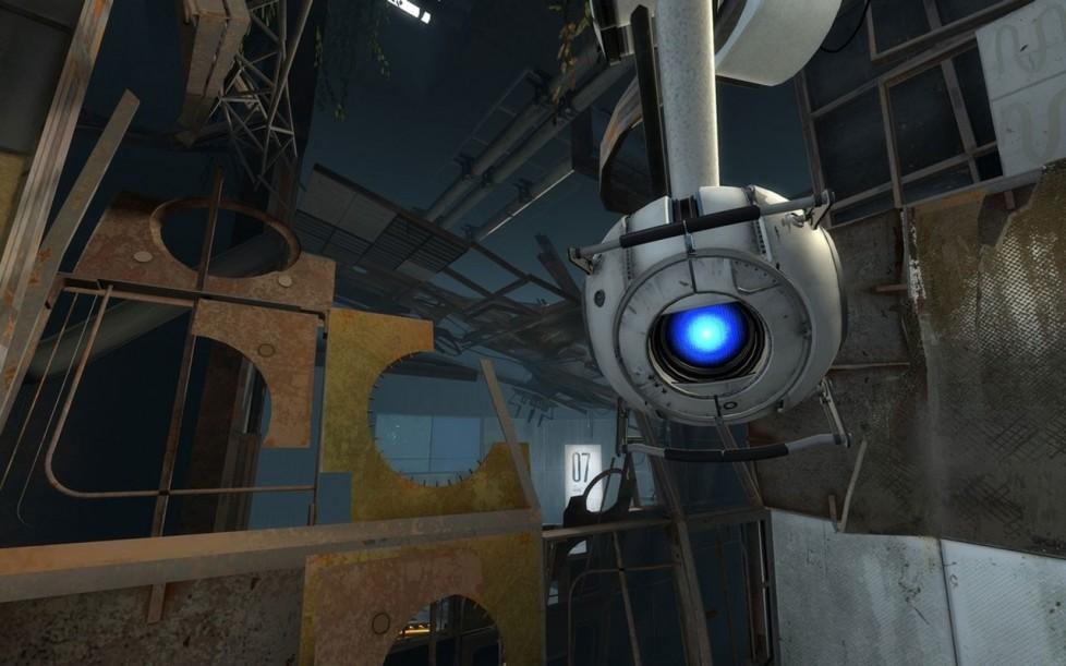 Screenshot di Portal 2 pubblicati in occasione della GDC 2011