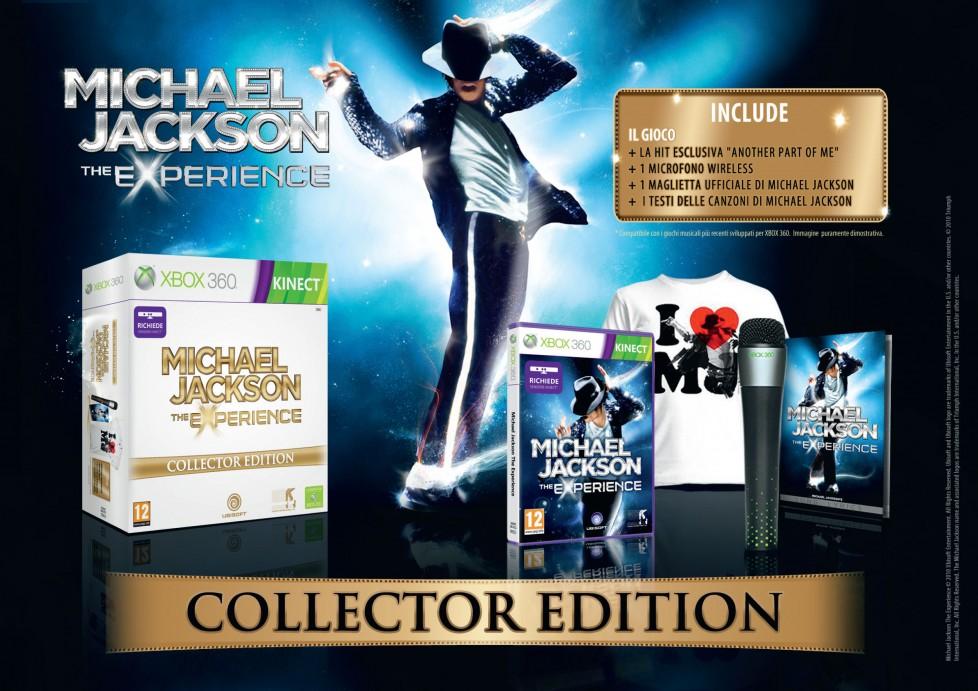 Immagine Per Michael Jackson su Xbox 360 anche una Collector Edition