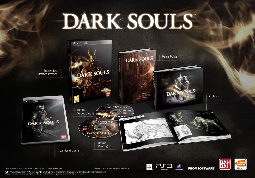 La limited edition di Dark Soul