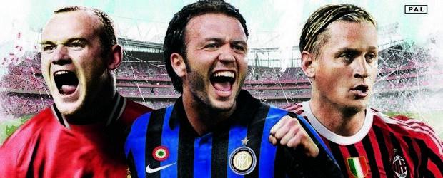 Giampaolo Pazzini sulla copertina di FIFA 12