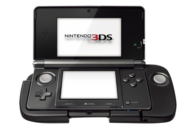 Nintendo 3DS con 3DS circle Pad