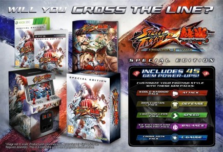 Street Fighter X Tekken: edizioni a confronto