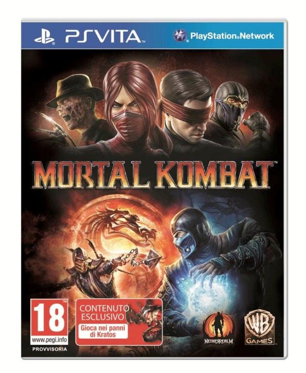 Immagine Mortal Kombat su PS Vita: è ufficiale