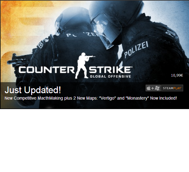 Immagine Nuove Mappe per Counter-Strike: Global Offensive