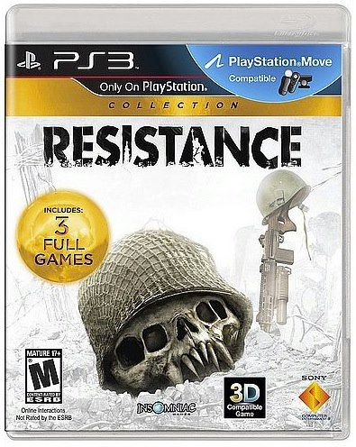 "Sony annuncia ""Resistance Collection""."