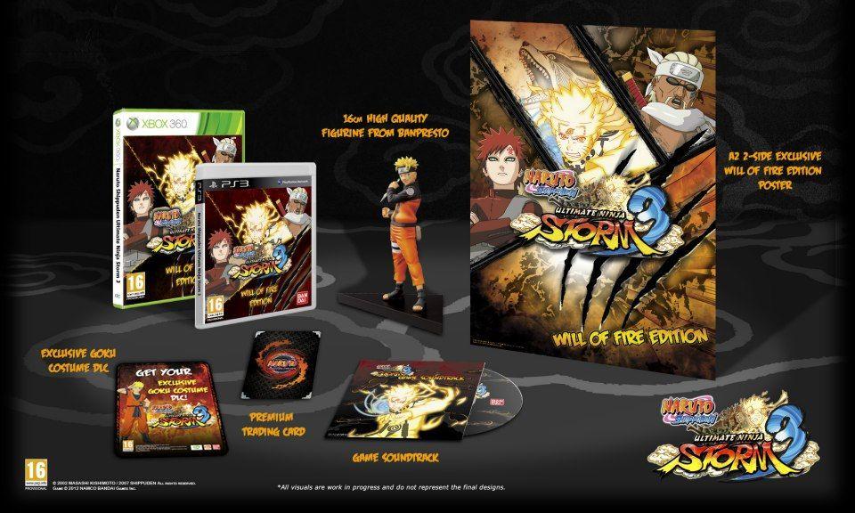 Immagine Bonus e Collector's per Naruto Shippuden: Ultimate Ninja Storm 3