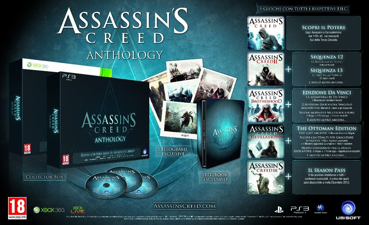 Immagine Ubisoft annuncia Assassin's Creed Anthology