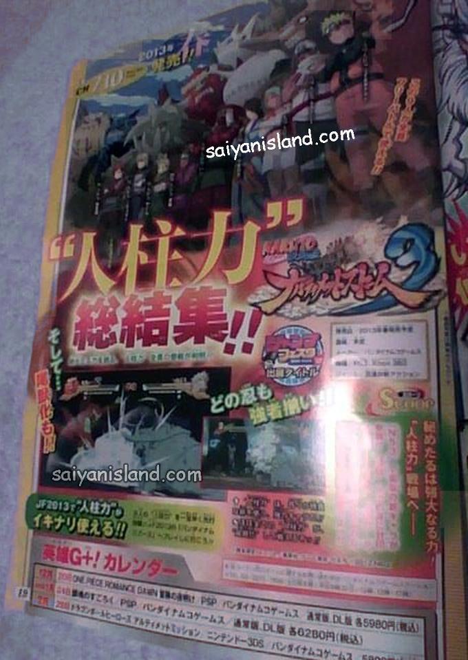 Immagine Nuove immagini per Naruto Shippuden: Ultimate Ninja Storm 3