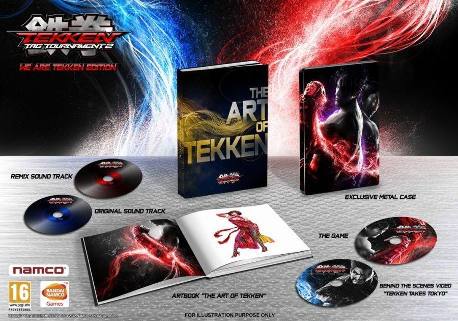 Immagine We are Tekken, l'edizione da collezionisti di Tekken Tag Tournament 2