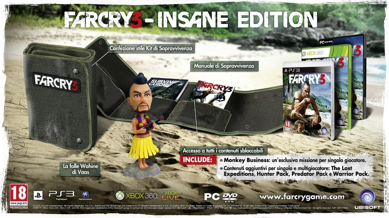 Insane Edition di Far Cry 3