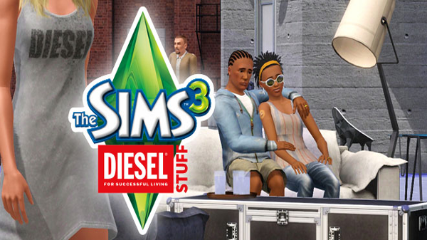 Immagine The Sims 3: nuovo video per il Diesel Stuff Pack