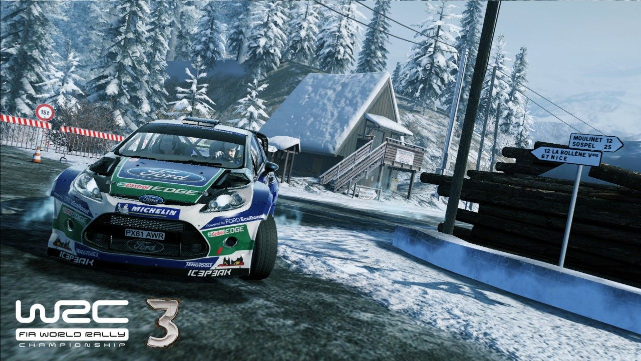Immagine World Rally Championship 3: screenshot del Rallye Monte-Carlo