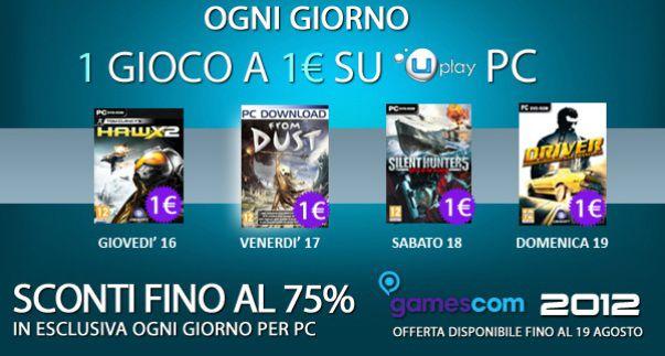 Su UPlay PC, un gioco al giorno ad un euro