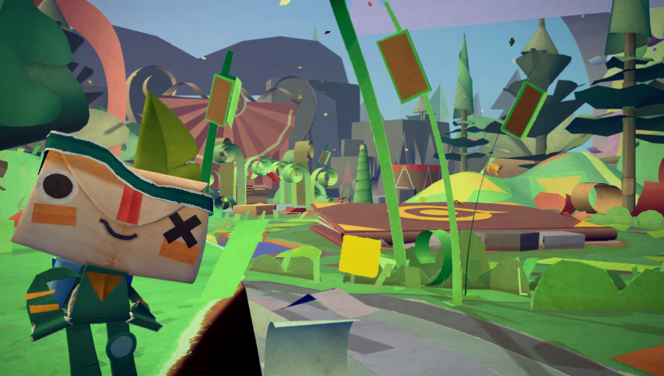 Immagine Annunciato Tearaway Unfolded per PlayStation 4