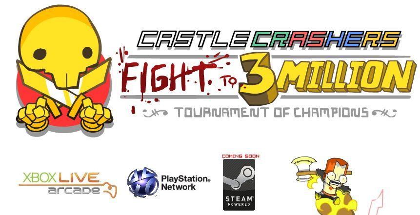 Castle Crashers in arrivo su PC, tramite Steam
