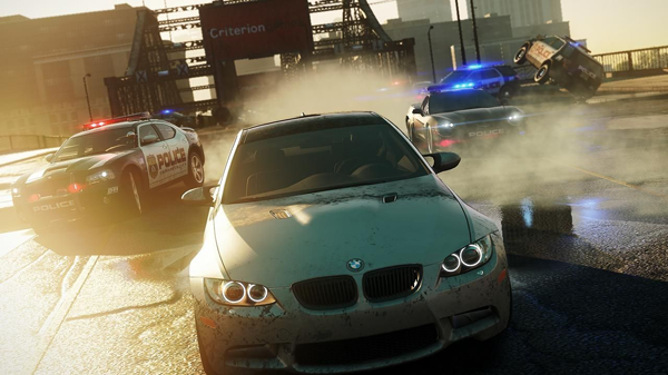 Need For Speed Most Wanted: nuovo video-gameplay