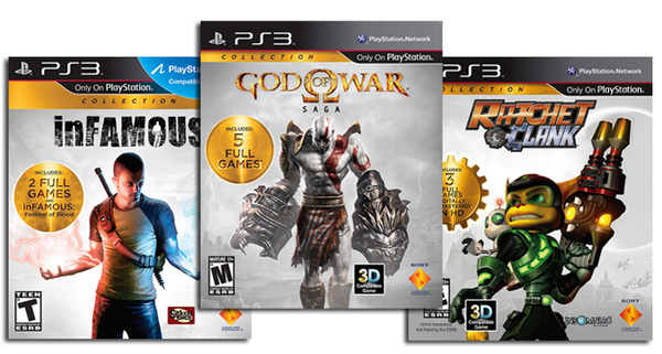 Arrivano oggi le collector di Ratchet & Clank, God of War e inFAMOUS