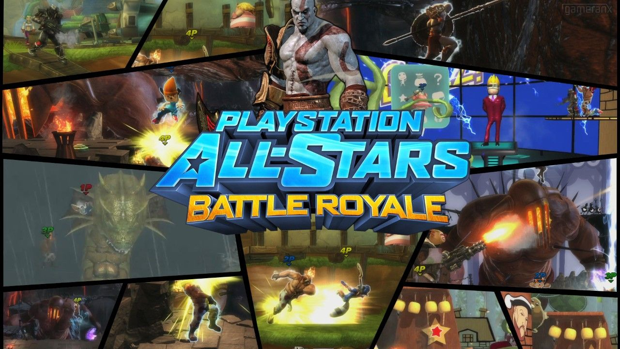Playstation All-Stars Battle Royale - Kratos