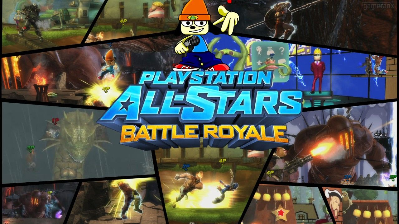 Playstation All-Stars Battle Royale - Parappa the Rapper
