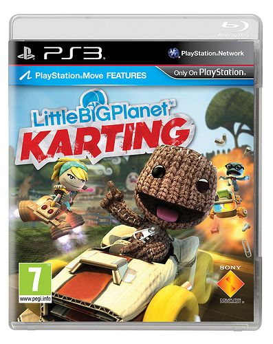 Cover LittleBigPlanet Karting versione EU
