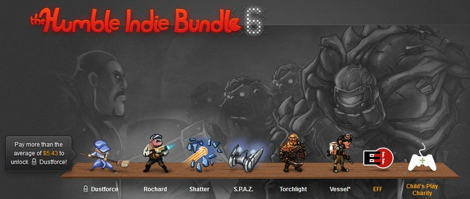 Uscito l'Humble Indie Bundle 6