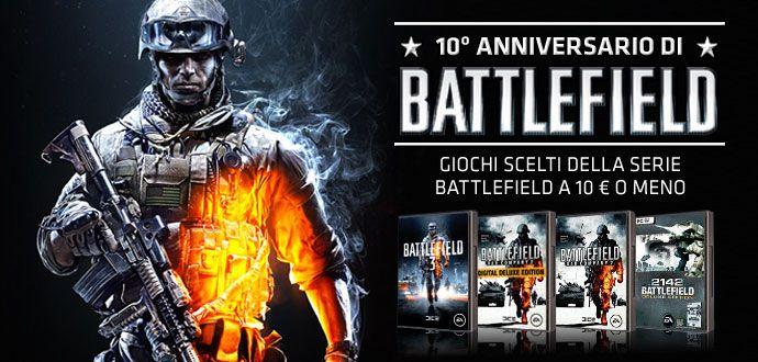 Immagine Origin fa gli sconti: Battlefield a 10€
