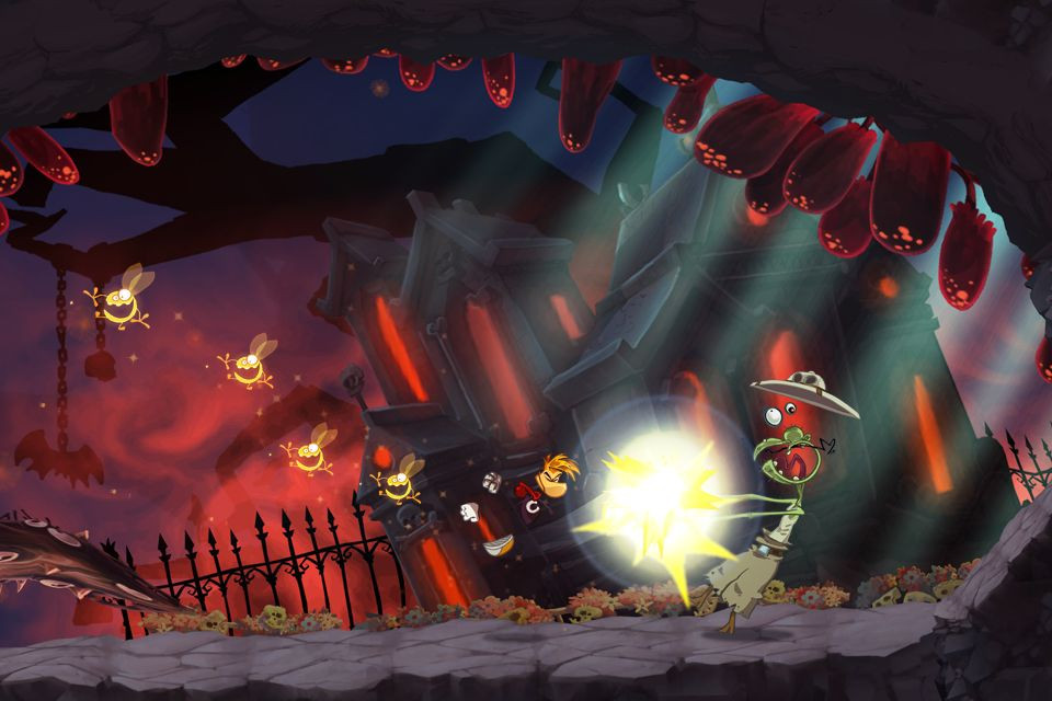 Rayman arriva su iPhone, iPad e Android
