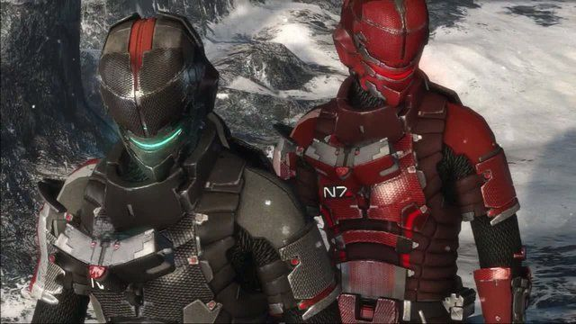 Immagine L'armatura N7 di Mass Effect 3 sarà disponibile anche su Dead Space 3!