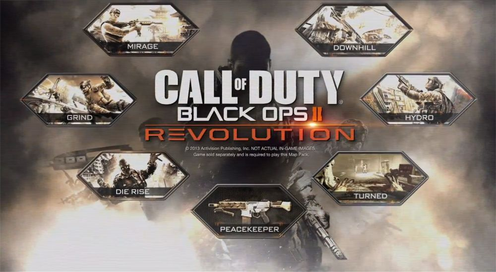 Immagine Revolution è il primo DCL per Call of Duty: Black Ops II