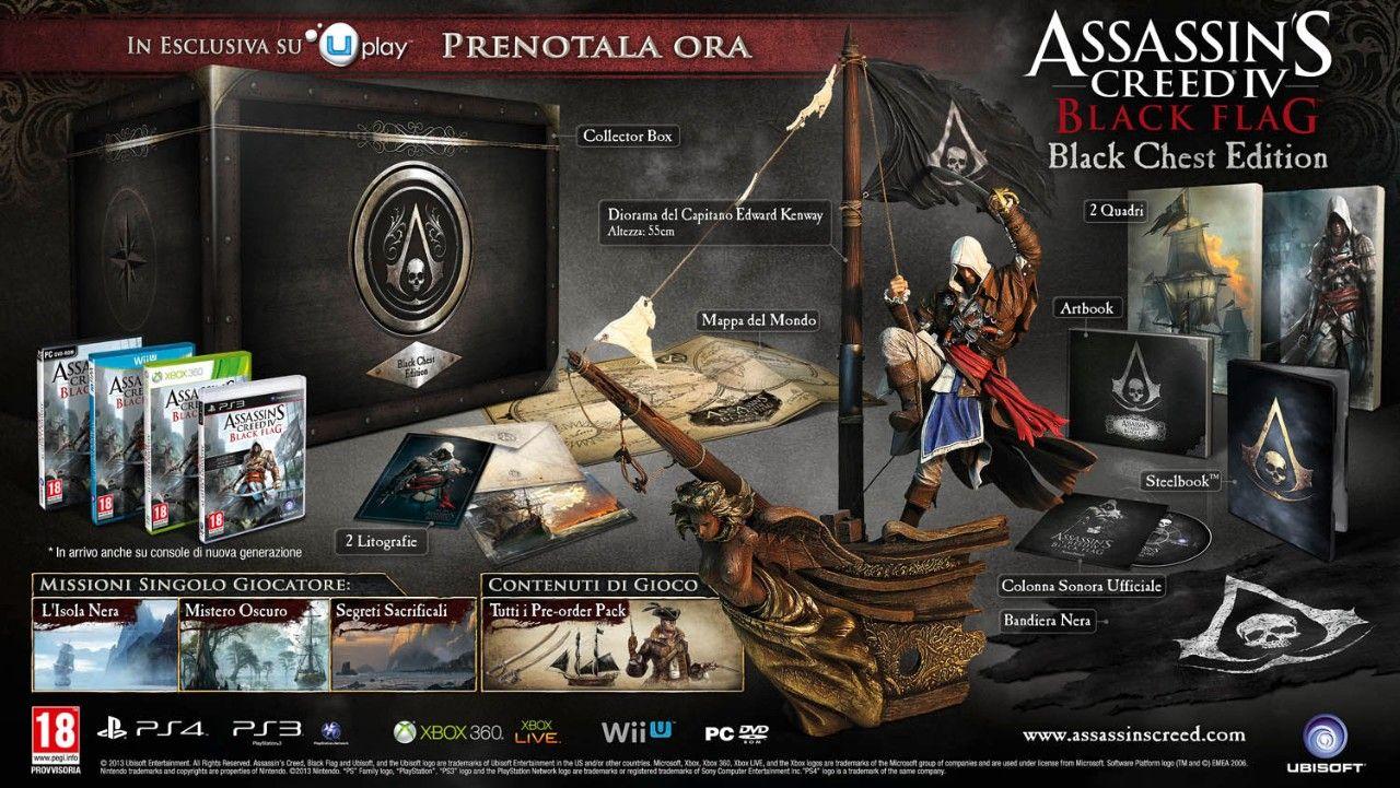 Immagine Svelate tutte le edizioni di Assassin's Creed IV: Black Flag