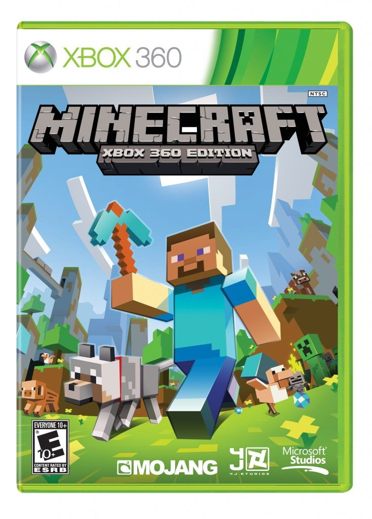 Immagine Minecraft Xbox 360 arriva ora in DVD