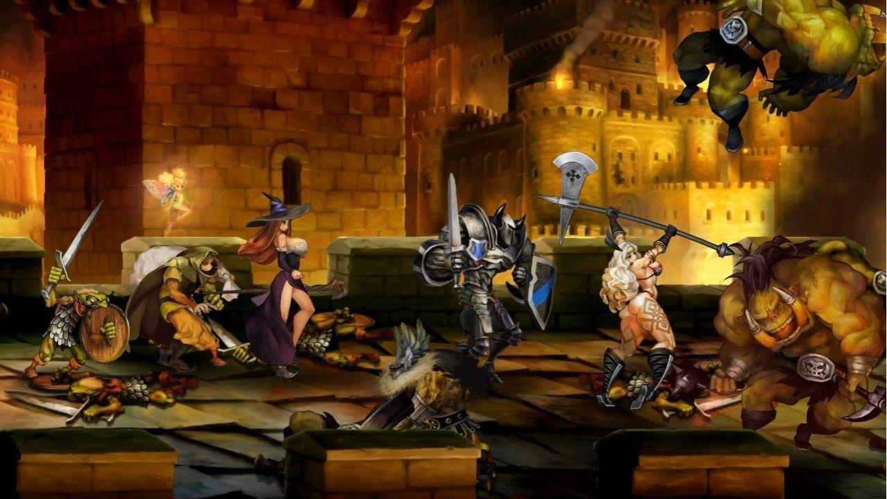 Dragon's Crown pubblicato anche in Europa
