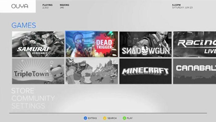 Immagine OUYA: Ben 104 giochi disponibili al lancio