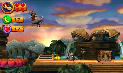 Donkey Kong Country Returns 3D: più facile su 3DS
