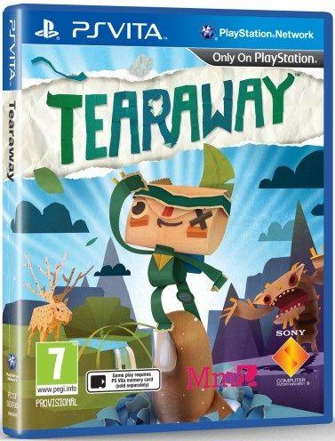 Immagine Annunciata la data d'uscita di Tearaway, box-art reversibile