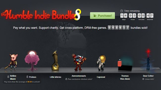 Humble Indie Bundle 8 ha raccolto più di 1 milione di dollari