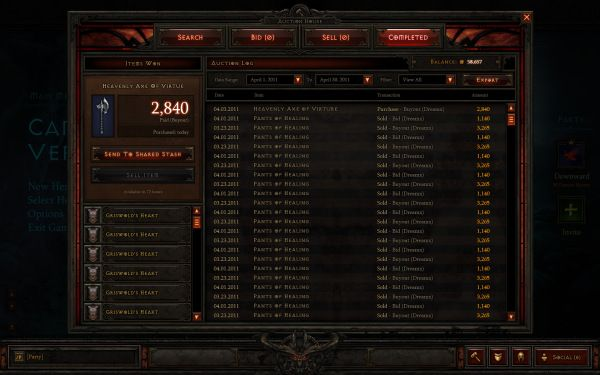 Immagine Diablo III: Bloccata la casa d'aste per un grave Glitch