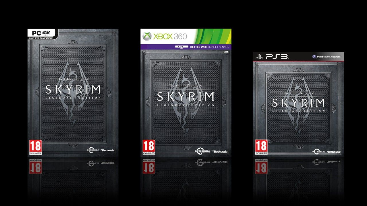 Immagine Esce oggi: The Elder Scrolls V: Skyrim Legendary Edition