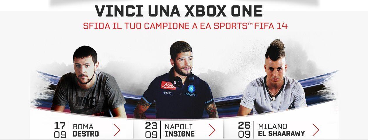 FIFA 14 va in tour per permettervi di sfidare i grandi campioni
